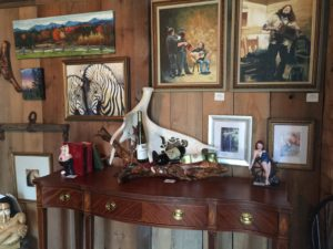 fine art work studio georgia vermont