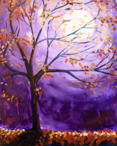 October Evening Skies
