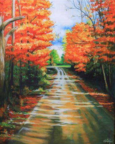 fall ride Georgia VT
